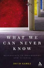 What We Can Never Know cover