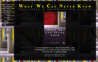 What We Can Never Know website